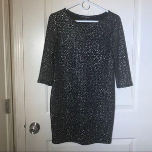 💃🏼Black Long Sleeved Mini Dress
